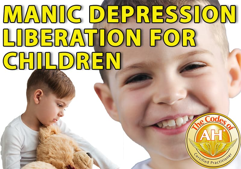 Manic Depression Liberation for Children with Codes of AH