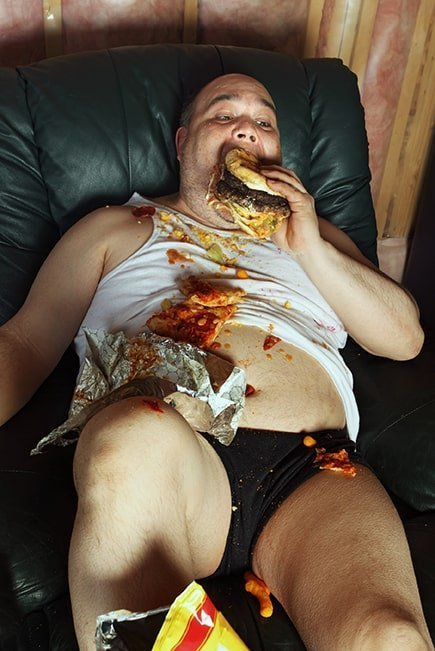 overeating is one of 7 habits of highly dysfunctional people